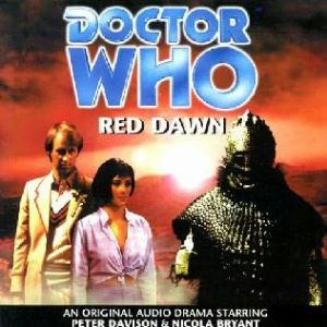"Big Finish Red Dawn signed by Georgia Moffett ""the Doctors Daughter"" in here first Doctor Who story."